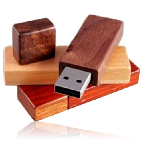 USB Flash Drive - Style Wood