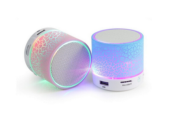 Factory Wholesale Price Portable Mini A9 Bluetooth Speaker with led light