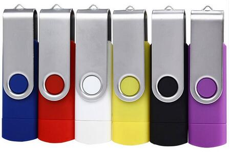 Fashion end of year gift flash 8gb rotating usb flash drive wholesale