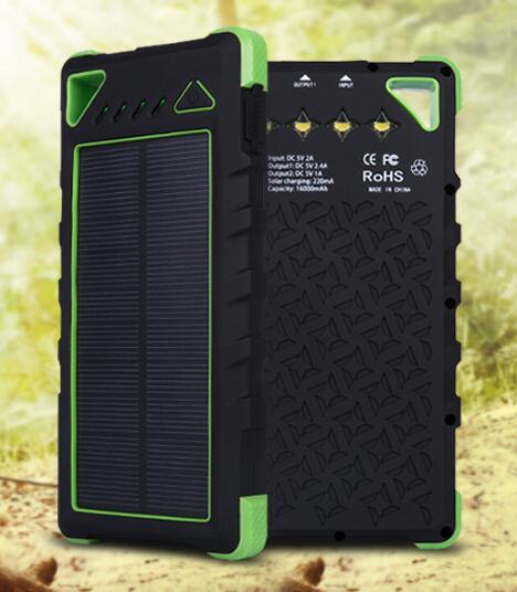 solar mobile charger 16000mah