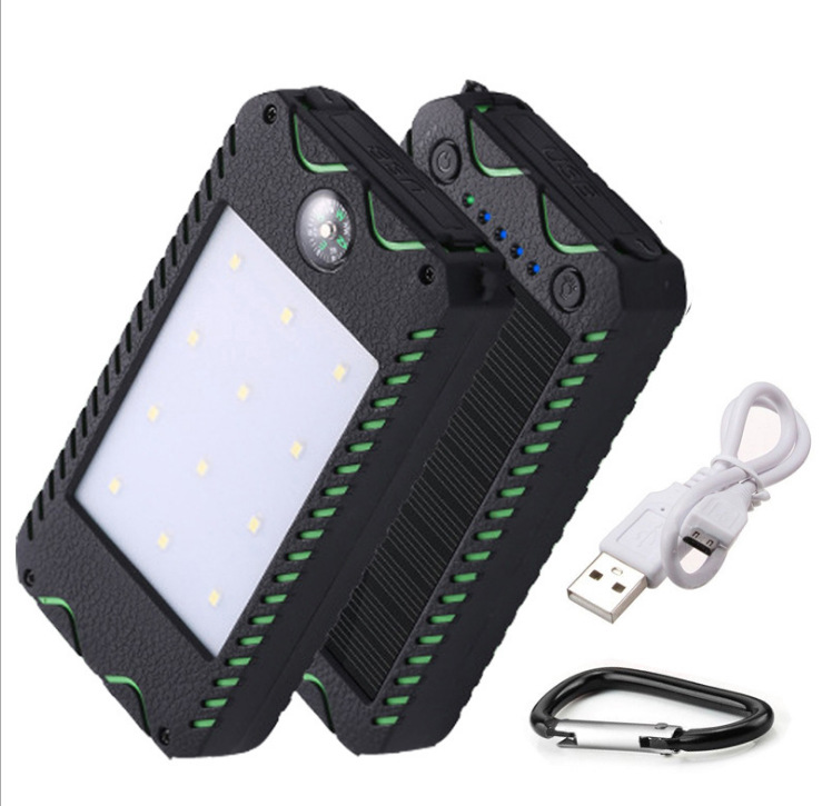 Expedition Solar Mobile Power Bank 20000mah