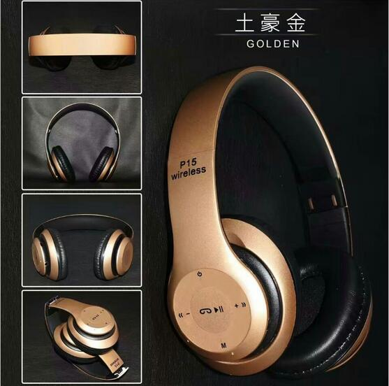 P15 bluetooth headphones