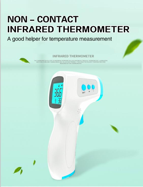 Non-contact Digital Forehead Thermometer Infrared thermometer for Baby Adult