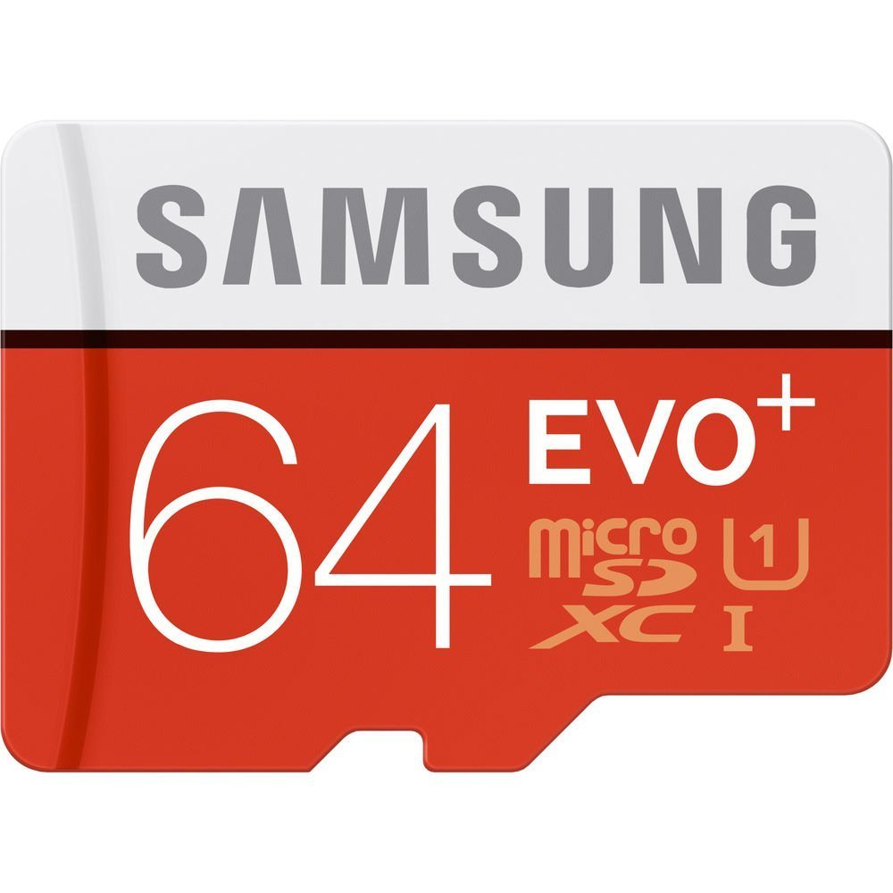 Samsung 64GB 128GB EVO Plus Class 10 Micro SDXC with Adapter 80mb/s