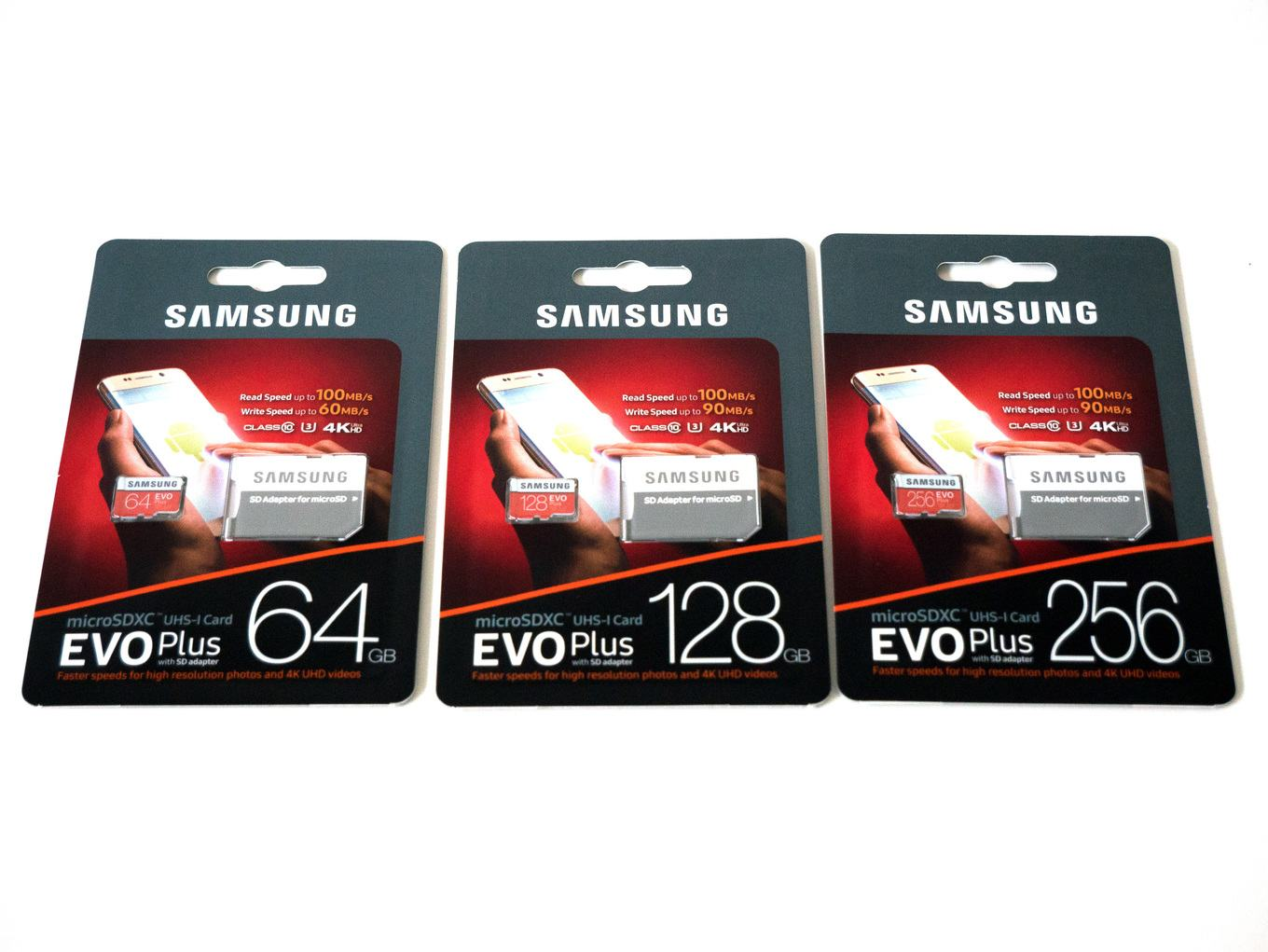 Samsung evo plus micro sd card 64gb 128gb 256gb 100mb/s