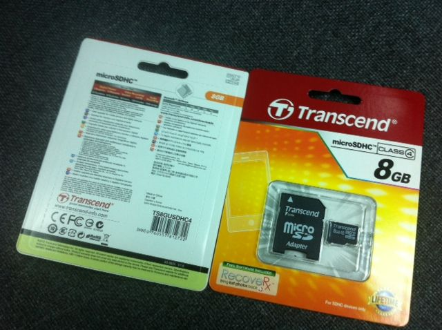 Micro SD Class 4 with adaptor 4GB-32GB