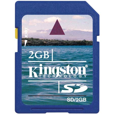 Kingston Technology 2 GB Secure Digital (SD) Memory Card