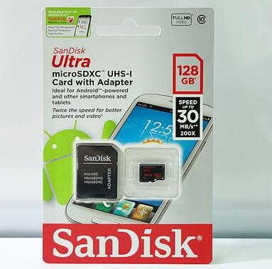 sandisk 128gb micro sd card