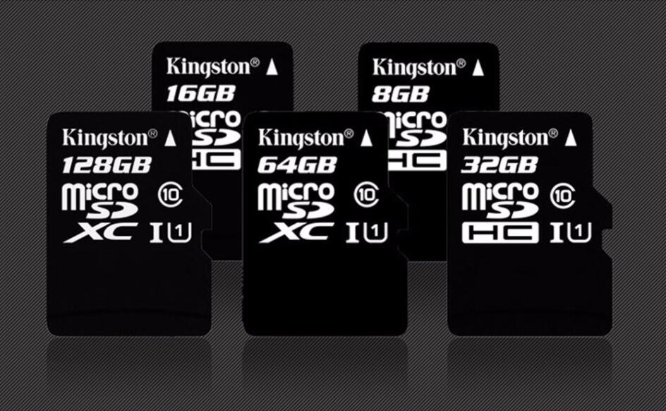 Kingston Micro SD 8gb 16gb 32gb 64gb 128gb 256gb Flash Memory Card Microsd SDHC/SDXC Class 10